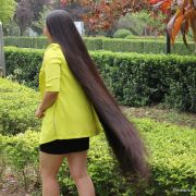 long hair show haircut