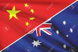 Drapeau-chinois-Drapeau-australien