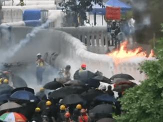 Hongkong-Protester