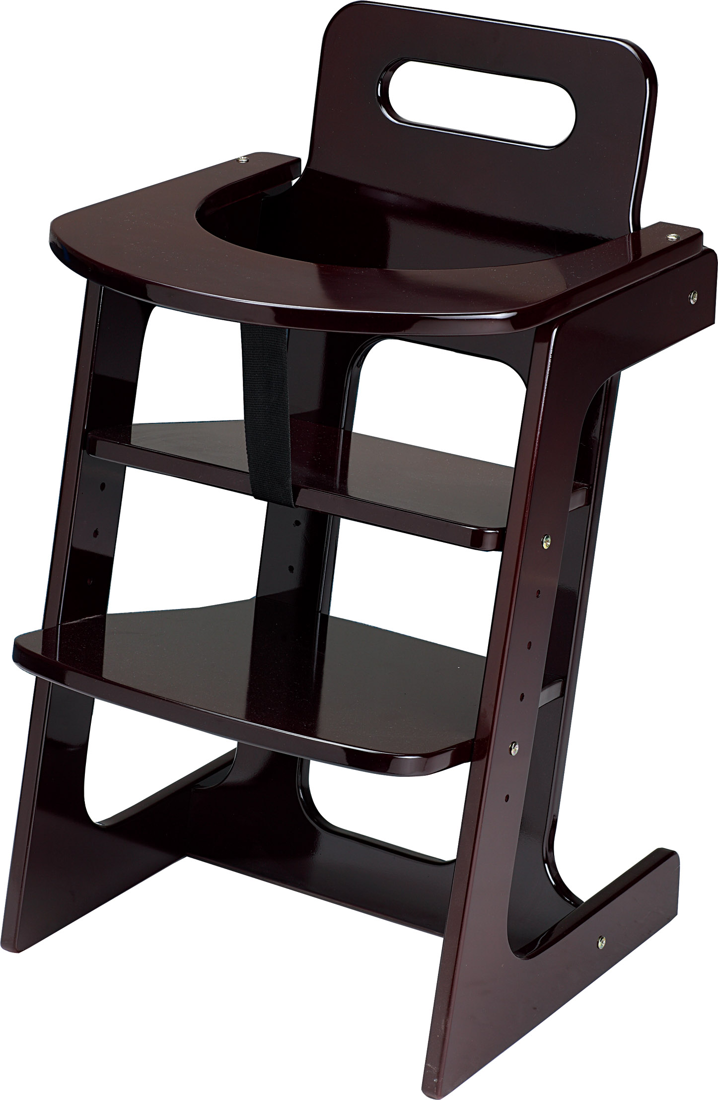 Adjustable High Chair Wood High Chair Chinahotelsupplies