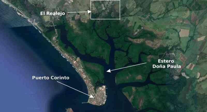 Historia de El Realejo, Puerto, Corinto, Chinandega, El Viejo