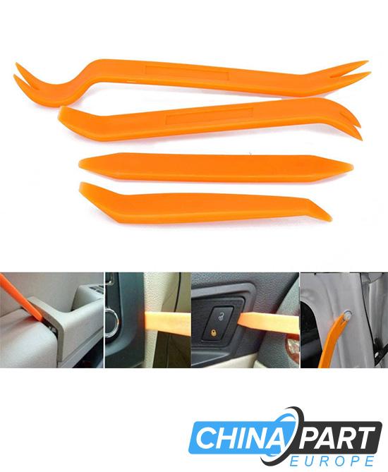 Automobilių salono vidaus apdailos ardymo įrankių komplektas