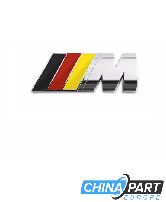 BMW M-Tech M Series ženkliukas emblema (German silver)
