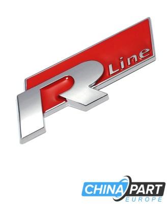 R Line Ženkliukas emblema (Red)