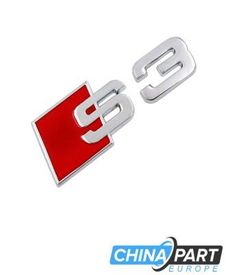 Audi S3 Ženkliukas Emblema (Silver)