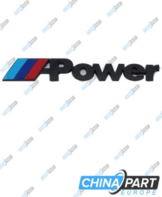 "M-Tech M Power ženkliukas emblema ""Medium"" (Black)"