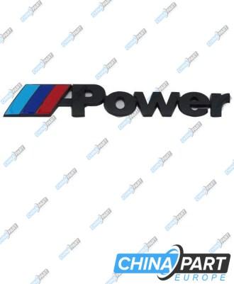 """M-Tech M Power ženkliukas emblema """"Medium"""" (Black)"""