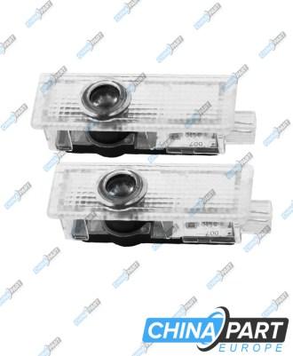 Quattro Led durų šviesos projektoriai
