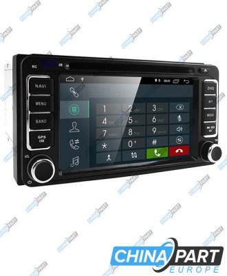 Toyota RAV4 Auris Yaris Corolla Hillux Land Cruiser Multimedija su navigacija (Android 8.1)
