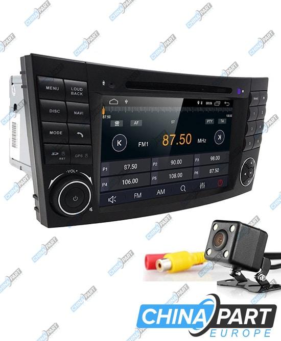 Mercedes Benz E W211 CLS W219 Multimedija su navigacija (Android 8.1)