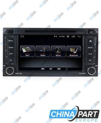 Volkswagen Touareg Transporter T5 Multivan Multimedija su navigacija (Android 8.1)
