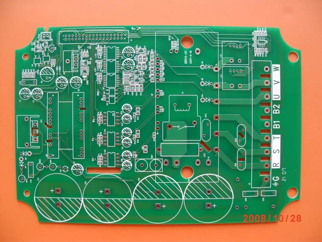 Professional 3 OZ 2 Layer Custom Heavy Copper PCB Printed