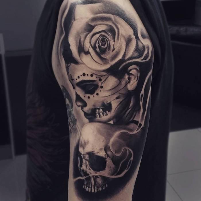 Catrina Mexicana Tattoo Feminina