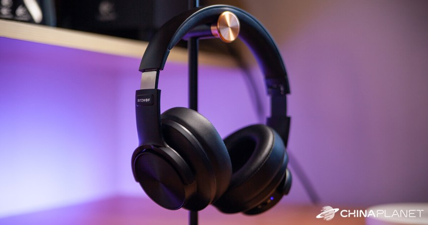 """BlitzWolf BW-HP2 are stylish and very well-playing """"over-ear"""" headphones"""