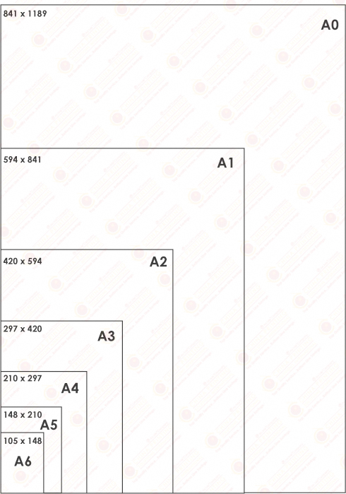 Metric Paper Size Diagram China Printing Solutions