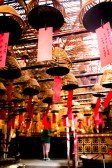 Incense coils in Man Mo temple