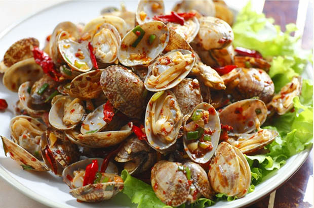 Spicy Fried Clams