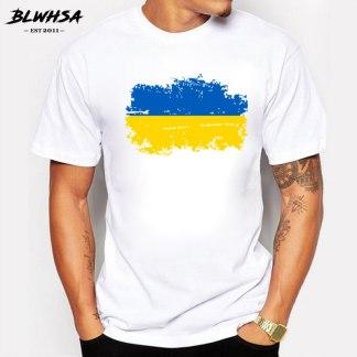 """Футболка с принтом """"Национальный флаг Украины"""""""