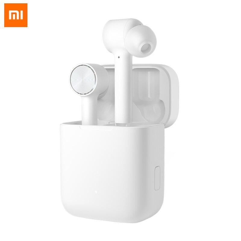 Оригинальный Xiaomi беспроводной наушники Air Bluetooth СПЦ True Active шум шумоподавления Smart Touch двусторонние звонки, музыка HD уха телефон