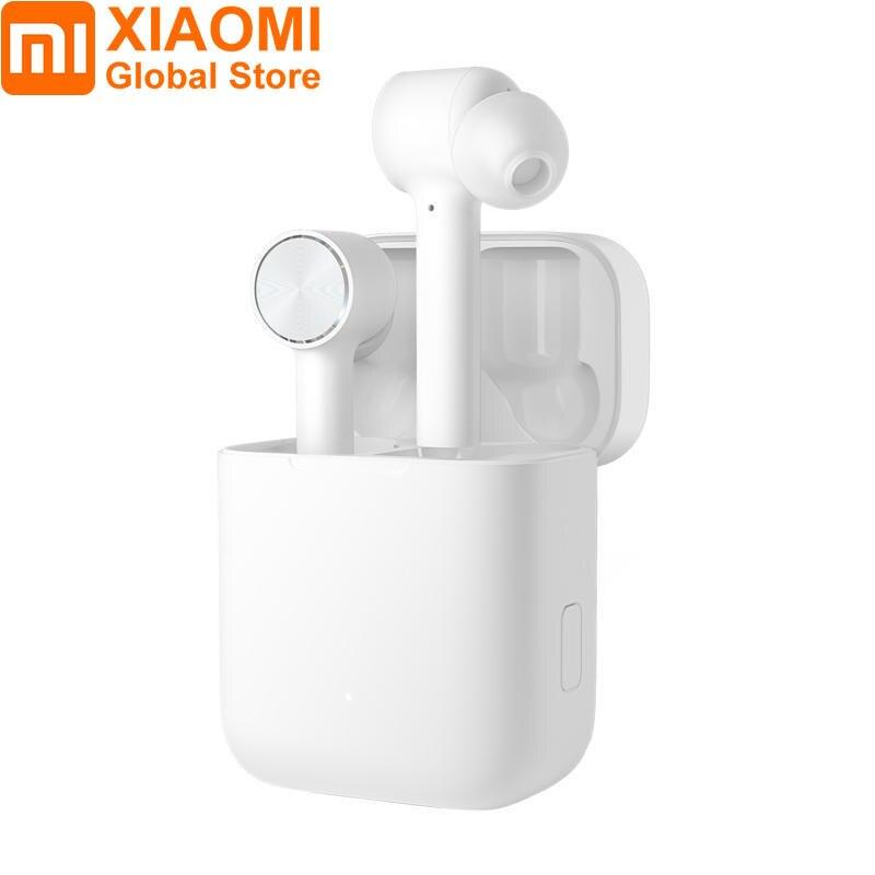 Xiaomi Airdots Pro Air TWS настоящие беспроводные наушники Bluetooth 4,2 вкладыши Спортивная гарнитура смарт-Сенсорное управление для xiaomi Note 7 Pro
