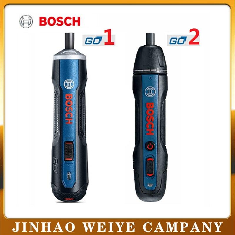 Bosch Go2 электрическая отвертка перезаряжаемая Автоматическая отвертка ручная дрель Bosch Go Многофункциональный Электрический пакетный инстру...