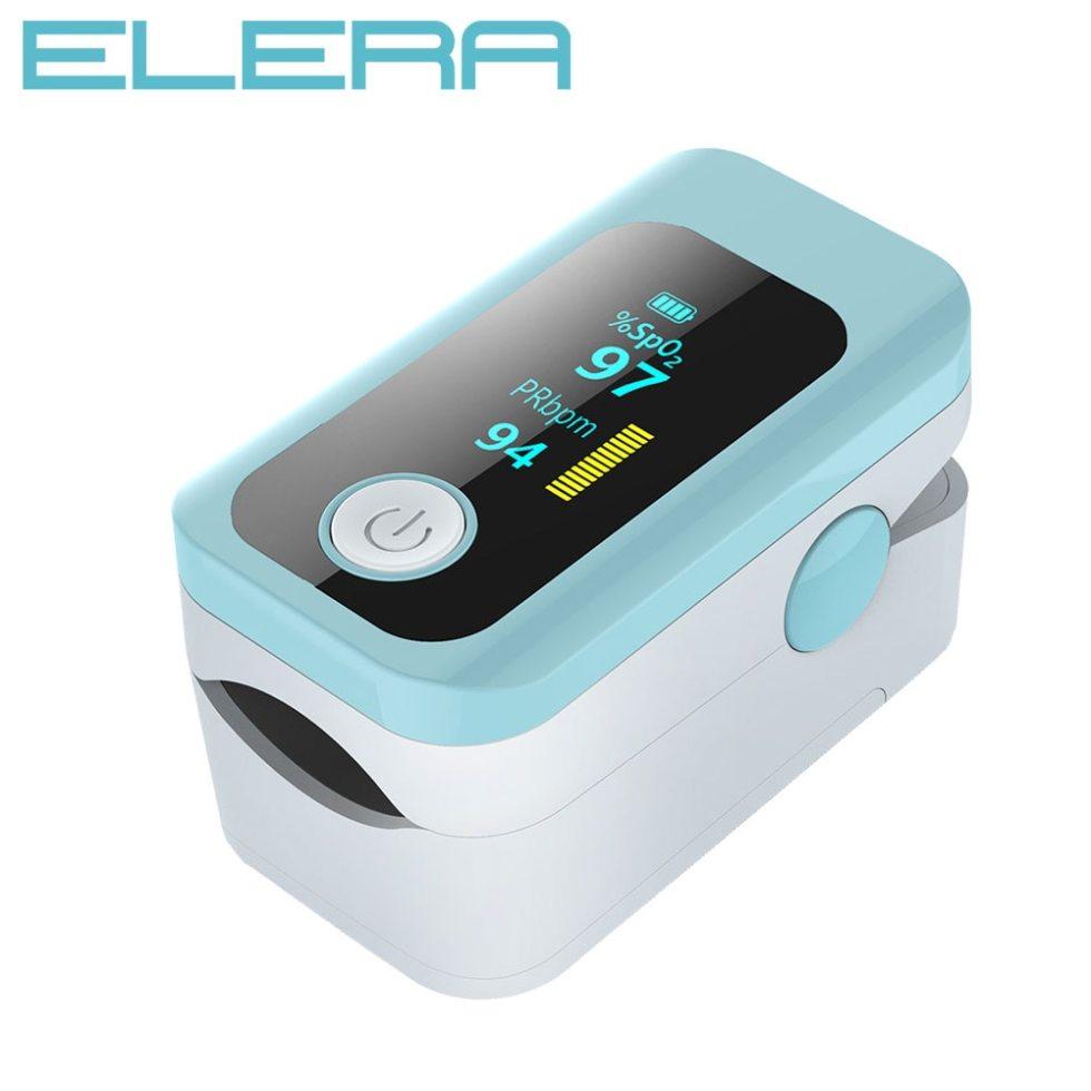 ELERA New! Будильник пальцевой оксиметр OLED Пульсоксиметр портативный Пульсоксиметр SPO2 PR оксиметр Дедо цифровой оксиметр палец