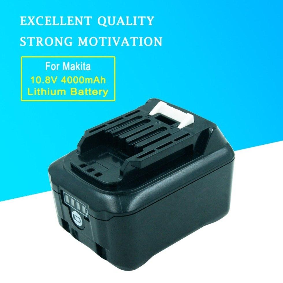 Литиевая аккумуляторная батарея 10,8 вольт 4.0A BL1040 для электроинструментов Makita серии CXT DF031D TD110D JR103D JV101D