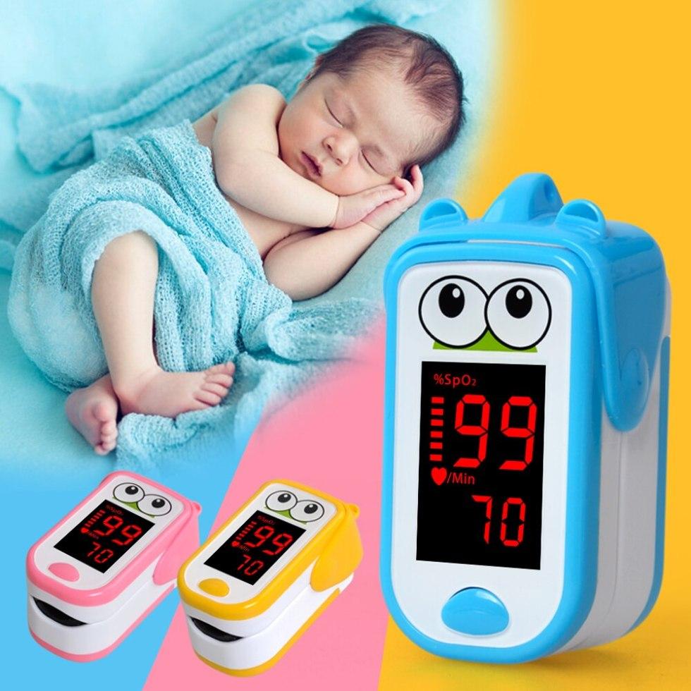 Пульсоксиметр для младенцев, Пульсоксиметр для новорожденных, детский пульсоксиметр, детский пульсоксиметр, монитор SpO2 PR, для детей, с мони...