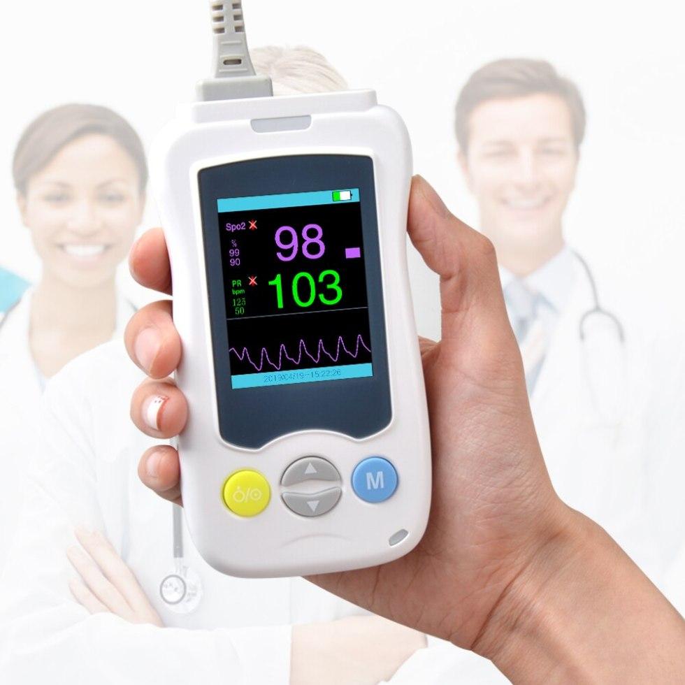 Ручной пульсоксиметр ELERA, Spo2 pr-измеритель для взрослых, новорожденных, новорожденных, детей, милых домашних животных