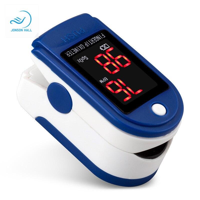 Уход за здоровьем Пальчиковый Пульсоксиметр монитор насыщения пальцев для детей младенческая кровь кислород цифровой портативный больниц...