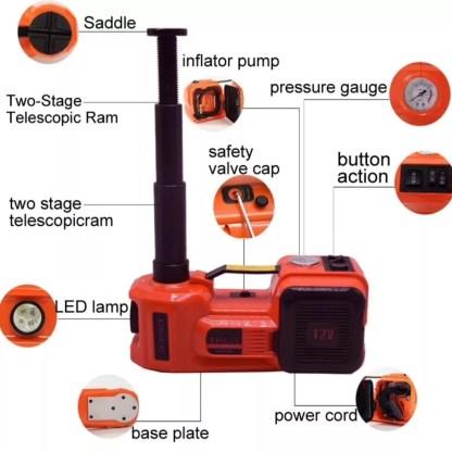 Электрический домкрат описание устройства