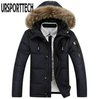 Зимняя мужская классическая куртка Ursporttech