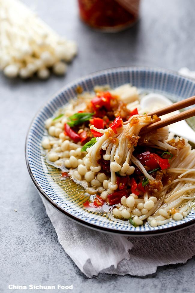 Masak Jamur Enoki : masak, jamur, enoki, Resep, Olahan, Jamur, Enoki, Mudah, Dibuat