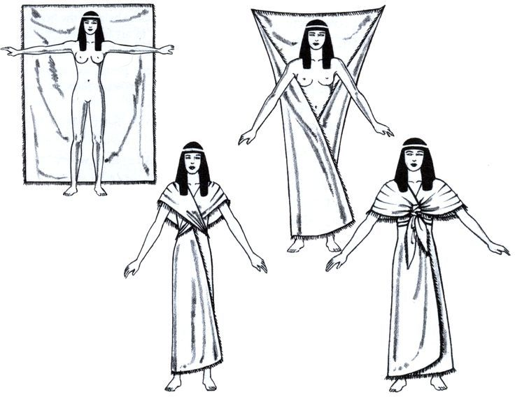 Ancient Egypt Supporting Tunic