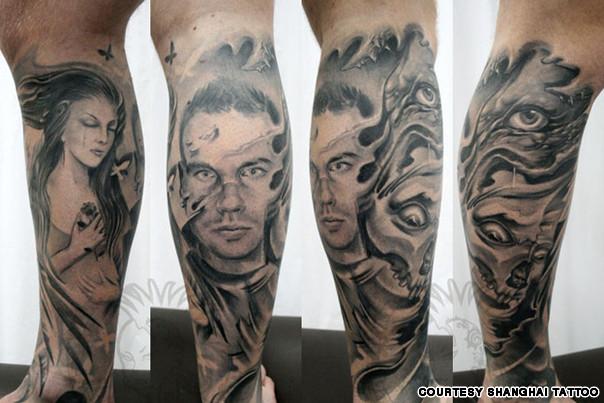 Shanghai Tattoo drawings. Courtesy of Shanghai Tattoo