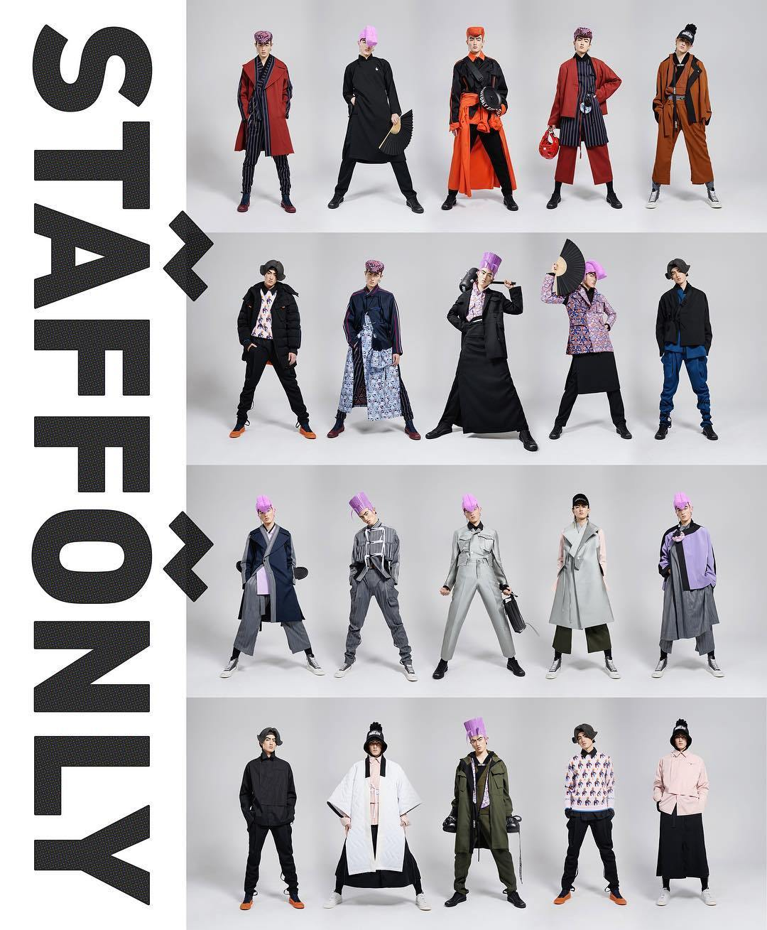 Staff Only Studio: STAY ALERT / STAY ALIVE. SEASON 5 - AUTUMN WINTER 2018. Now available in stores! (IG: @staffonlystudio)