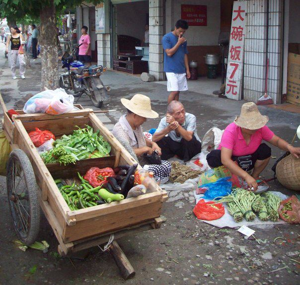 A traditional view of China's elderly landscape -- both in the city and outside its metropolitan borders. Photography by Elsbeth van Paridon, Guangzhou City, 2010. All rights reserved