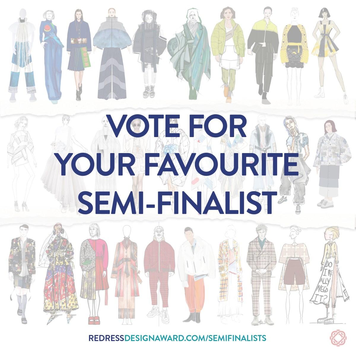 Redress Design Award 2019 Semi-Finalists
