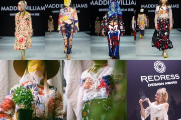 Redress Design Award 2019 First Prize Winner Maddie Williams, all rights reserved