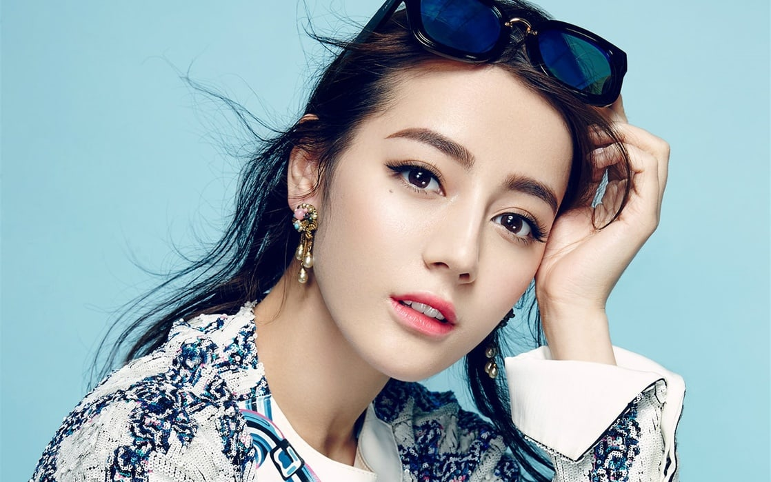 """Actress Dilraba Dilmura has had bestowed upon her the honor of possessing """"China's Most Wanna-Have Face."""" Image via Hotpot TV"""