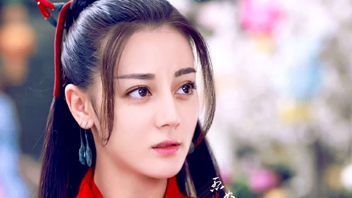 """Dilraba Dilmurat in historical hit drama """"The Flame's Daughter,"""" 2018. All rights reserved"""