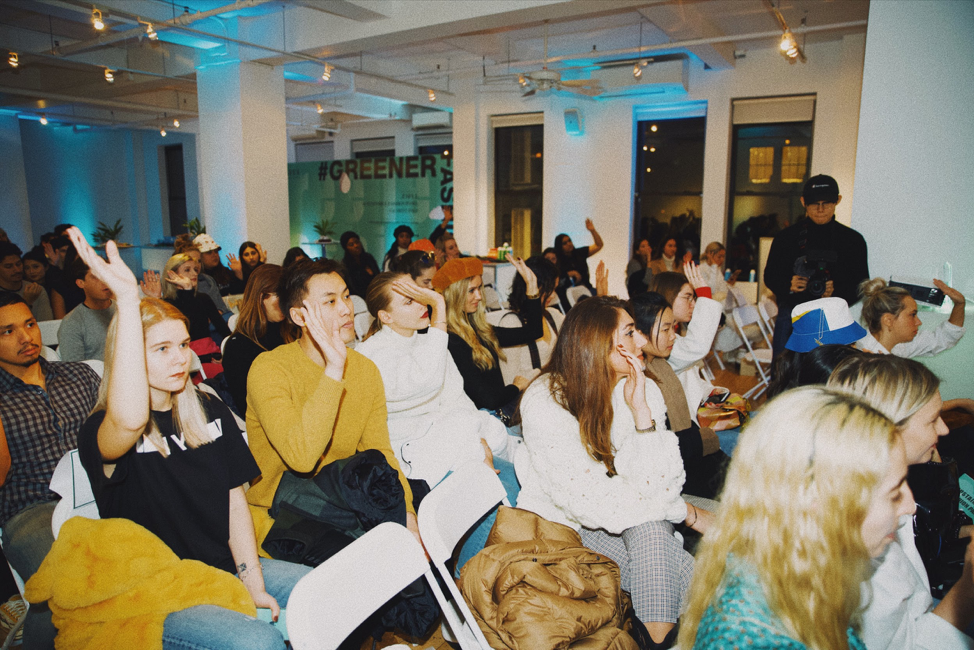 The ZAFUL November 8 panel invited experts, practitioners as well as New York University representatives from the associated fields of sustainability, fashion, and technology. #greenerfashion #zaful@zaful @zafulevents @wgempire