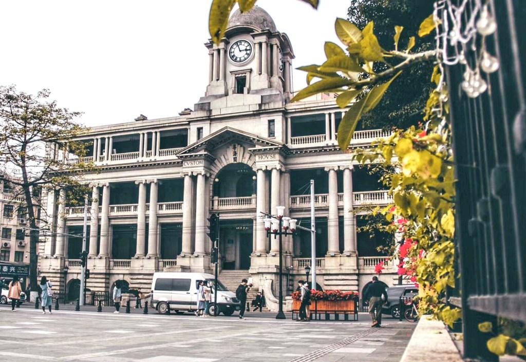 位于沙面的欧洲新古典主义建筑,粤海关。 Liangjun Wen摄影作品