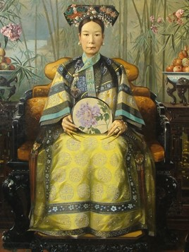 A portrait of Cixi by American painter Katherine Augusta Carl in 1903.
