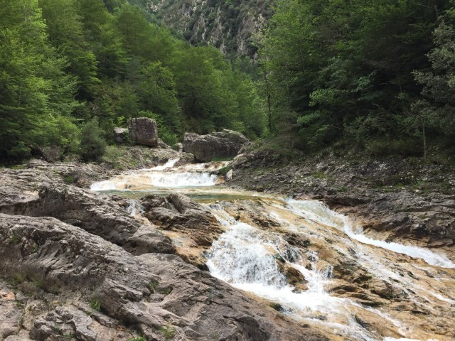 Abenteuerliche Wege um den Cañon de Añisclo