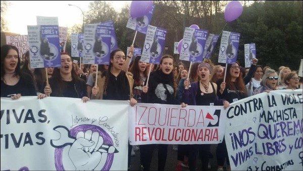 對抗性別歧視,暴力和資本主義是一場國際鬥爭   社會主義行動