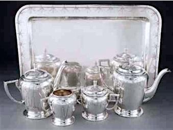 Tou Se We Tea:Coffe set + tray
