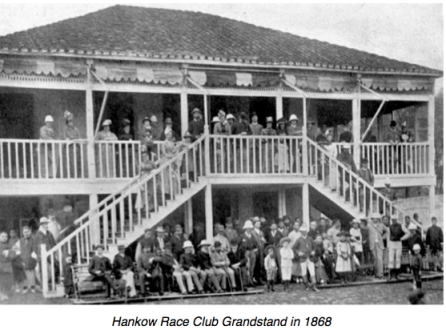 Hankow Race Club Grandstand 1868