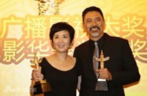 At the Huabiao Awards