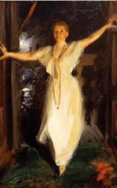 Isabel Stewart Gardner by Anders Zom